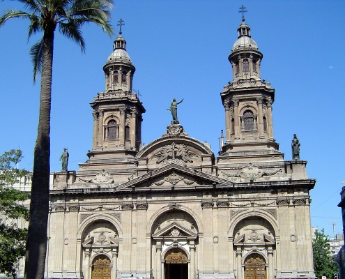 Santiago Metropolitan Cathedral - Chile © Tania Young