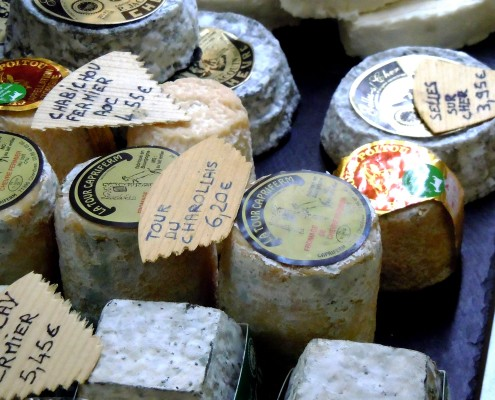 French cheeses © Barge Vacations