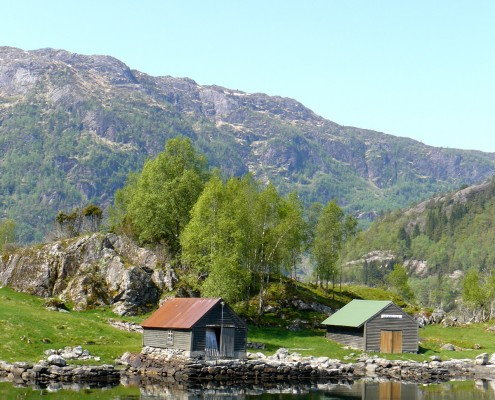 Fjord in Norway © Charlotte Routier