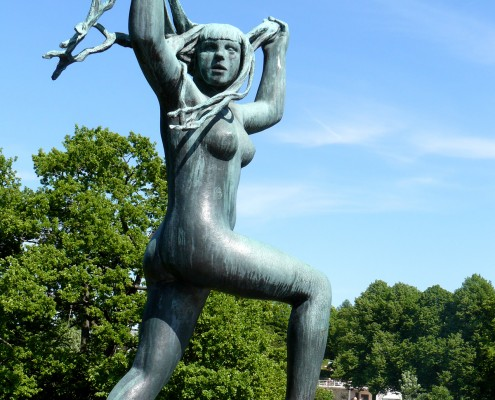 Frogner Park in Oslo - Norway © Charlotte Routier