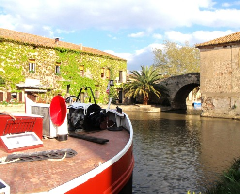 Tango Barge, Canal du Midi © Barge Vacations